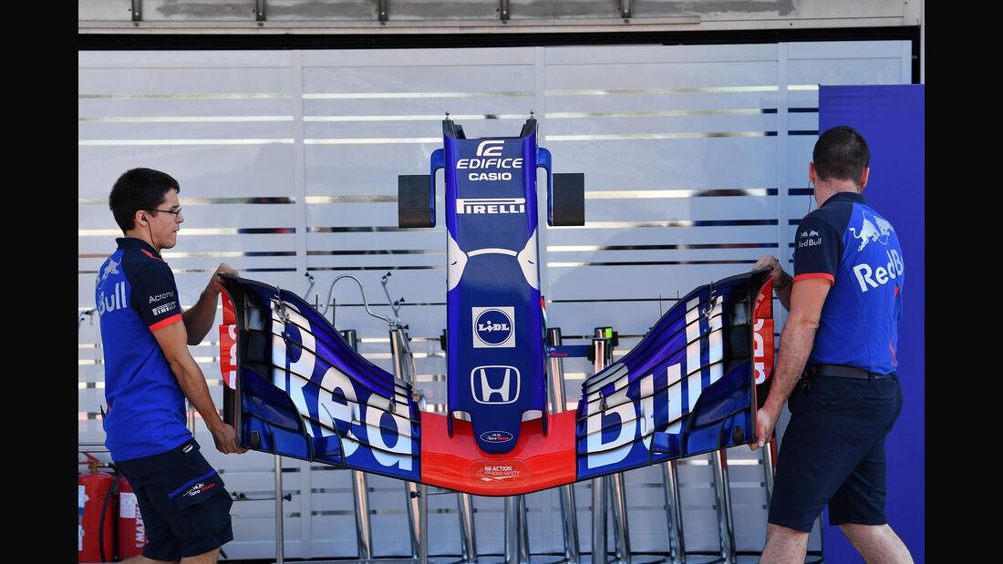 Toro Rosso - GP Ungarn - Budapest - F1-Test - 31. Juli 2018