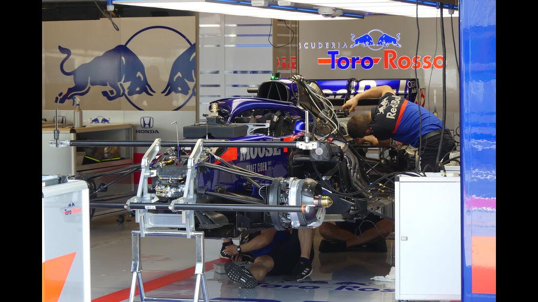Toro Rosso - GP Ungarn - Budapest - Formel 1 - Donnerstag - 1.08.2019