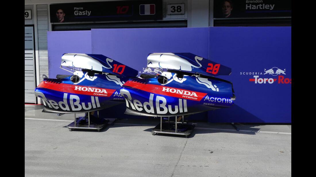 Toro Rosso - GP Ungarn - Budapest - Formel 1 - Mittwoch - 25.7.2018