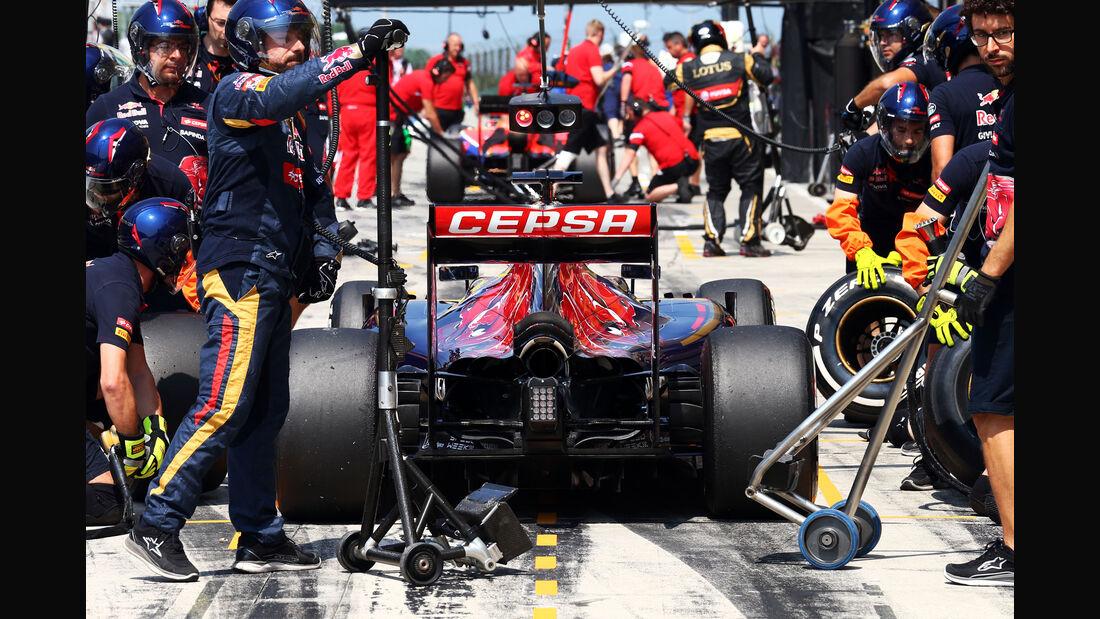 Toro Rosso - GP Ungarn - Budapest - Freitag - 24.7.2015