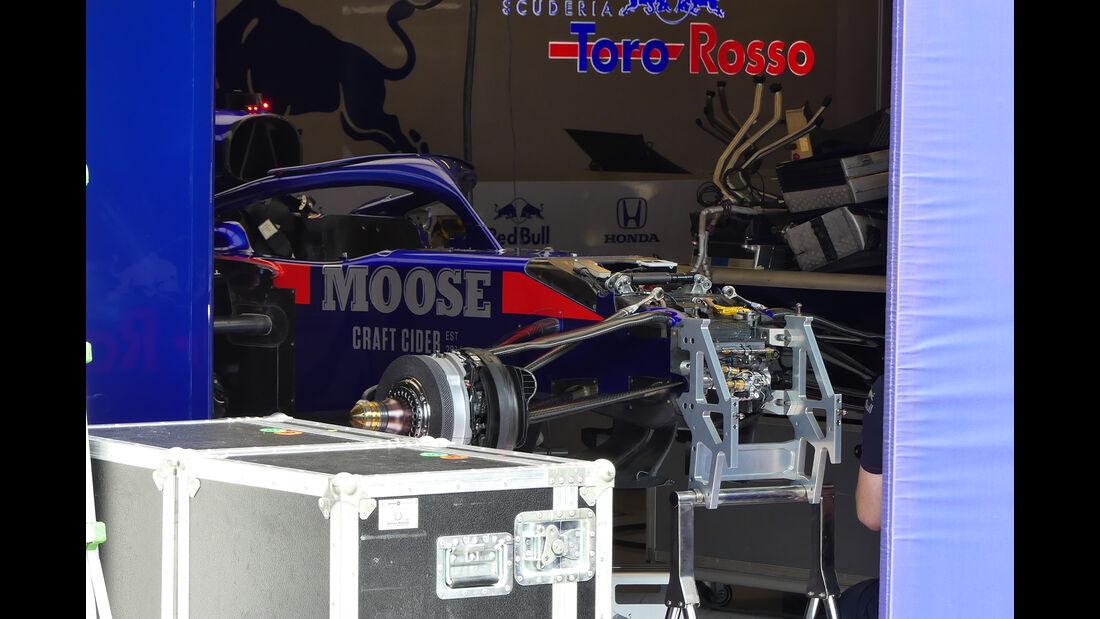 Toro Rosso - GP Ungarn - Budapest - Hungaroring - Mittwoch - 31.07.2019