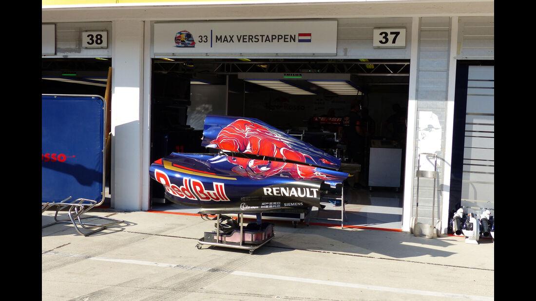 Toro Rosso - GP Ungarn - Budapest - Mittwoch - 22.7.2015