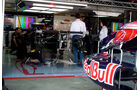 Toro Rosso-Garage