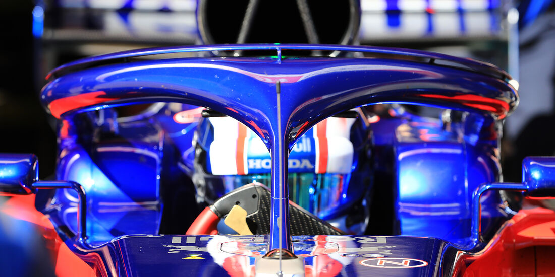 Toro Rosso - Halo - F1-Test - Barcelona - 2018