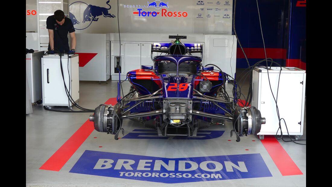 Toro Rosso-Honda - Formel 1 - GP Aserbaidschan - 27. April 2018