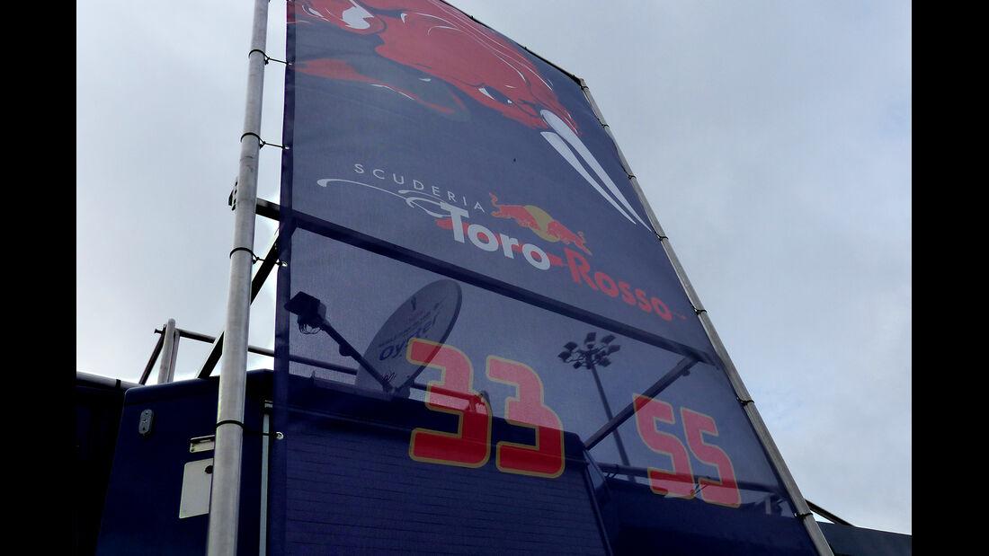 Toro Rosso - Impressionen - Jerez - Formel 1-Test - 30. Januar 2015