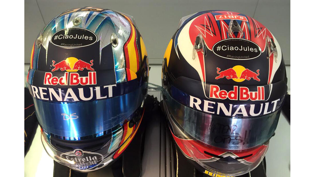 Toro Rosso - Jules Bianchi-Aufkleber - GP Ungarn 2015