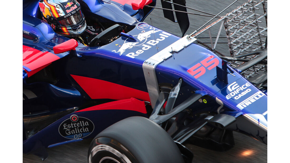 Toro Rosso - Licht-Sensor - F1 Test Barcelona 2017