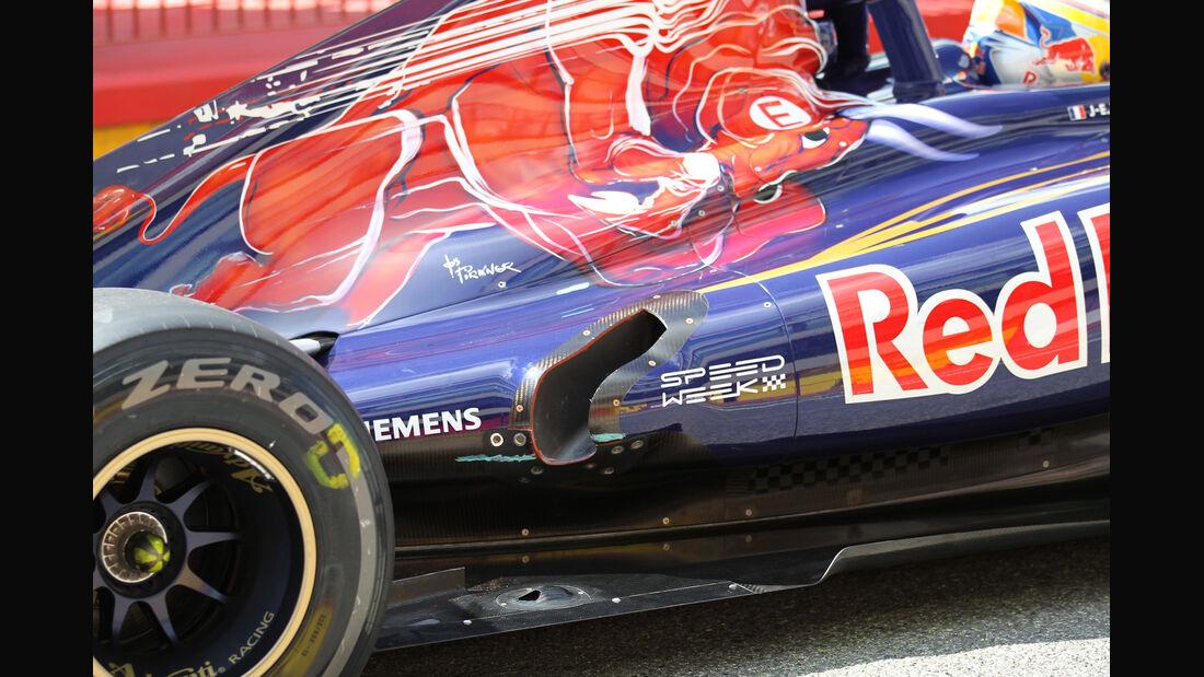 Toro Rosso Mugello 2012 Formel 1 Technik