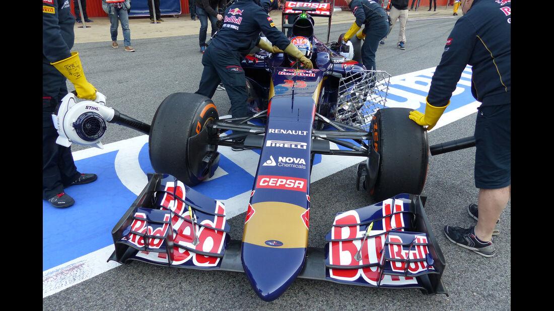 Toro Rosso - Nasenkamera - Barcelona - 2015
