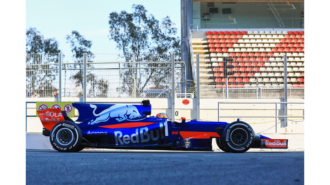 Toro Rosso - Profil - F1 - Barcelona Test 2017