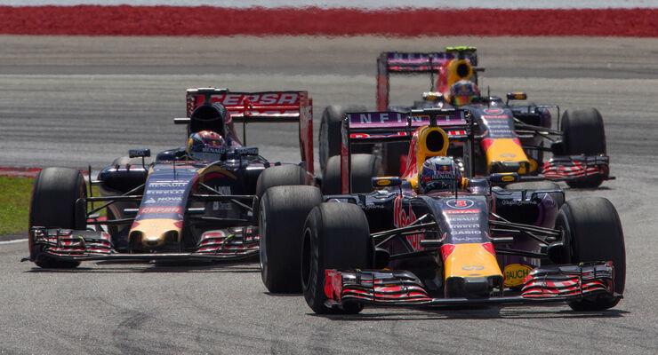Toro Rosso & Red Bull - GP Malaysia 2015