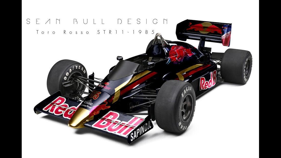 Toro Rosso - Retro F1 - Sean Bull