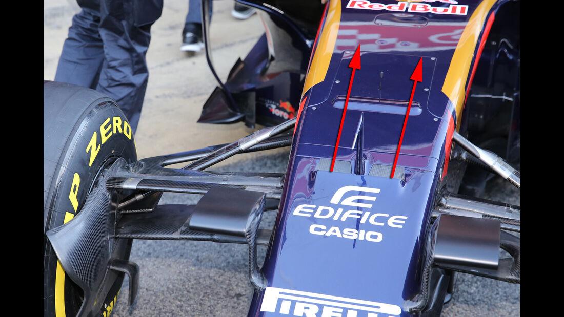 Toro Rosso - S-Schacht - F1-Test - Barcelona 2016