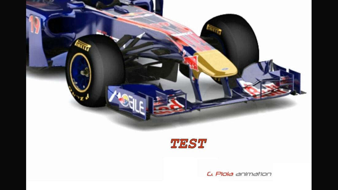 Toro Rosso STR6 - Animation