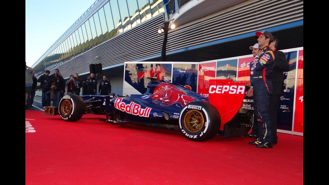 Toro Rosso STR8 Jerez 2013 Präsentation