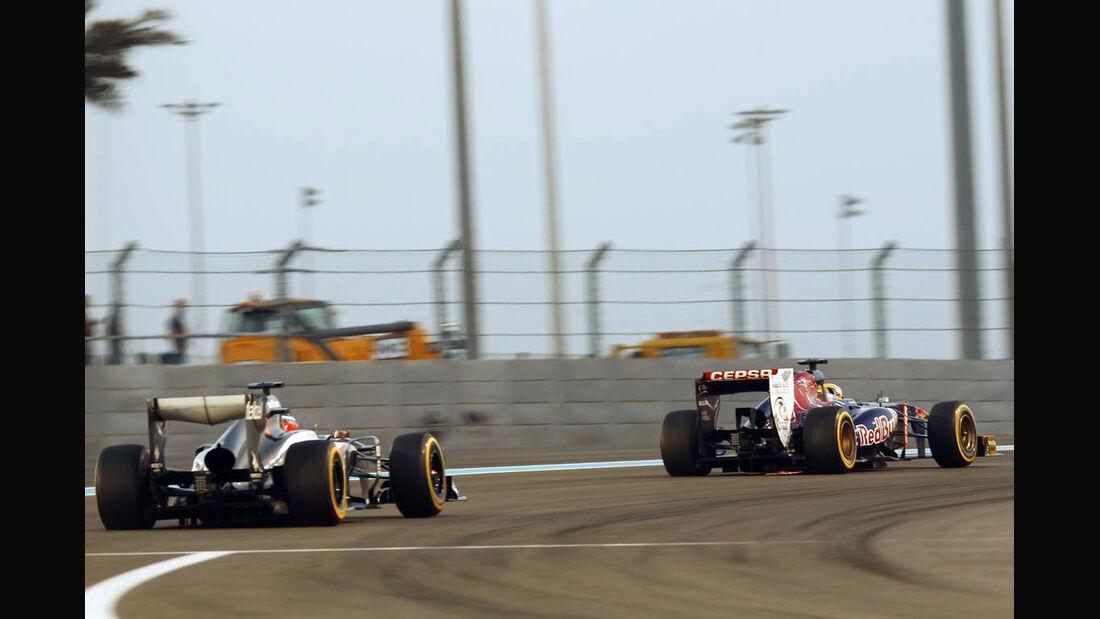 Toro Rosso - Sauber - Formel 1 - GP Abu Dhabi - 02. November 2013