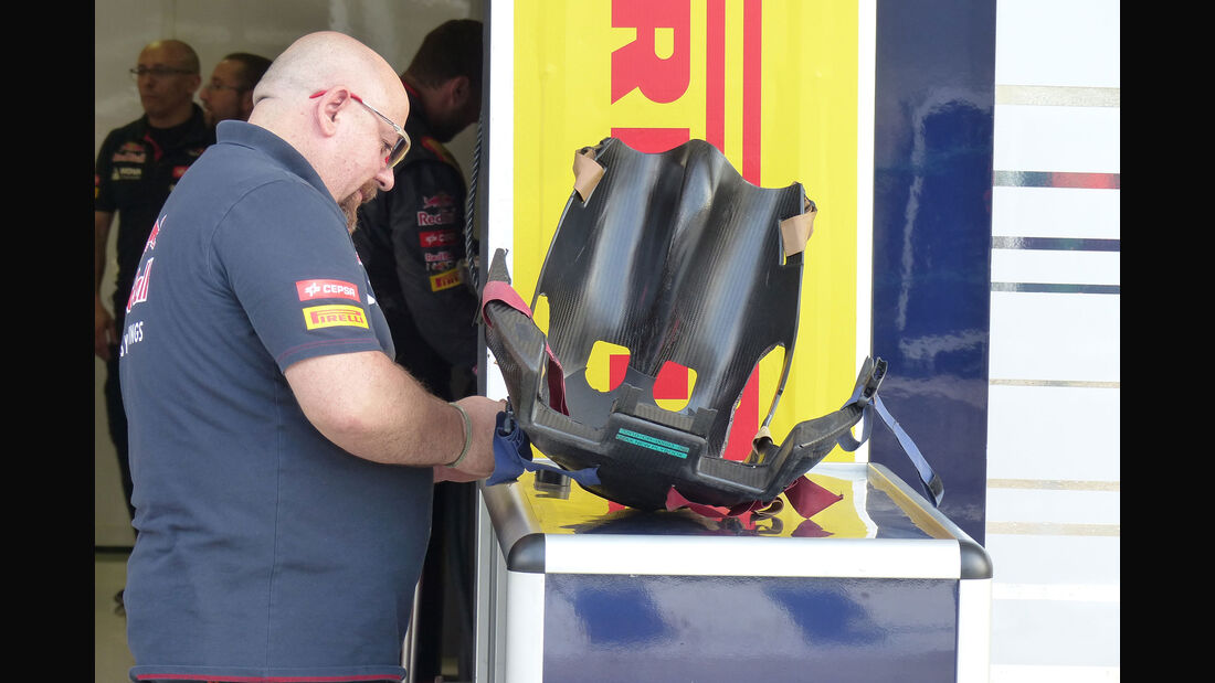 Toro Rosso - Sitz Verstappen - GP Ungarn - Budapest - Freitag - 24.7.2015