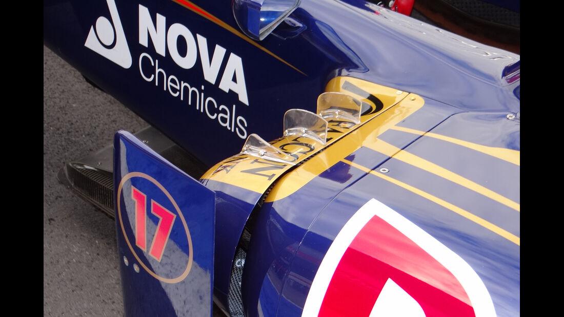 Toro Rosso Technik 2012