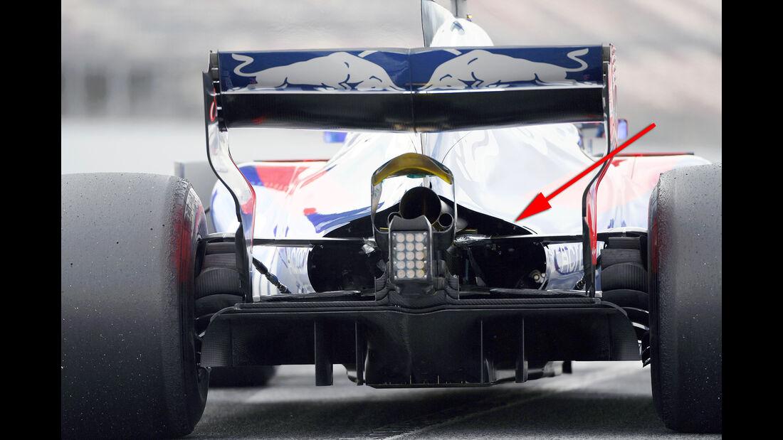Toro Rosso - Technik - Barcelona-Test 2017 - Formel 1