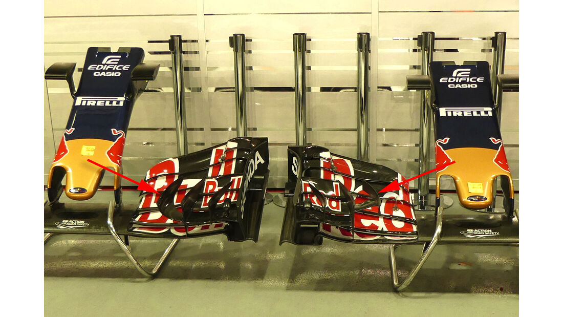 Toro Rosso - Technik - Formel 1 - GP Singapur 2016