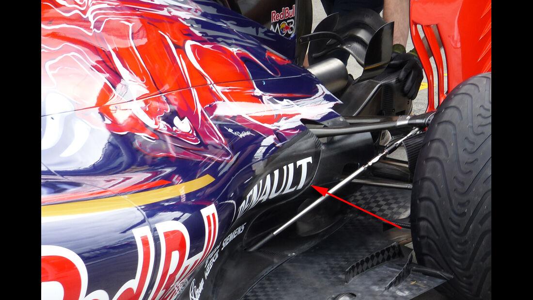 Toro Rosso - Technik - GP China / GP Bahrain - Formel 1 - 2015