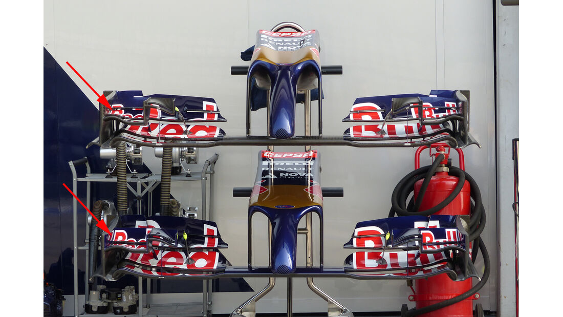 Toro Rosso - Technik - GP Malaysia 2014