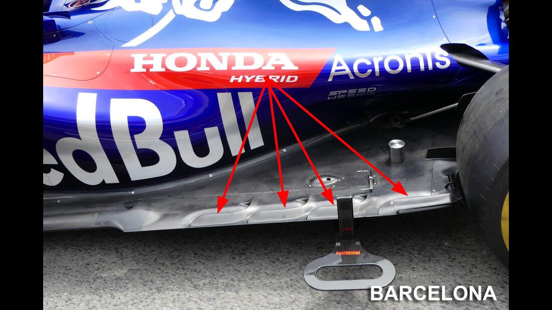 Toro Rosso - Technik - GP Monaco 2018