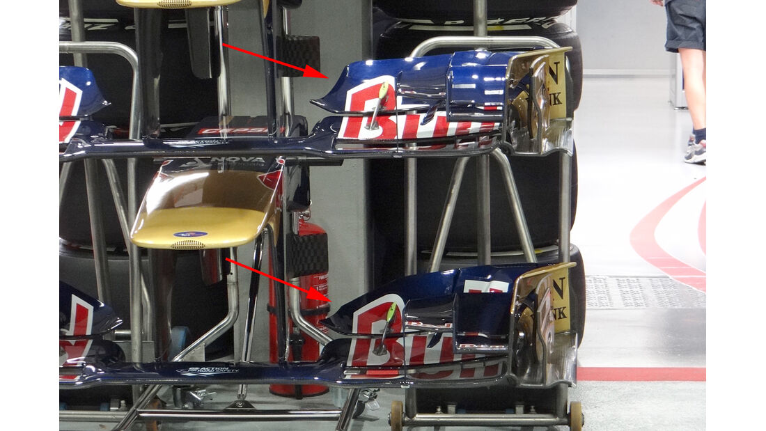 Toro Rosso - Technik - GP Singapur 2013