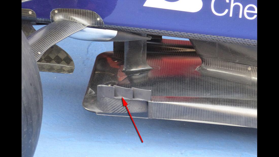Toro Rosso - Technik - GP Spanien 2015
