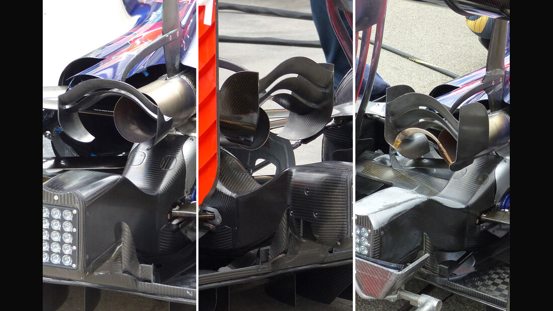 Toro Rosso - Technik - GP Ungarn 2015