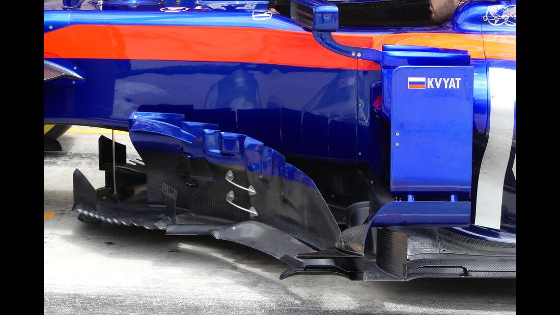 Toro Rosso - Technik - Juli/August 2019