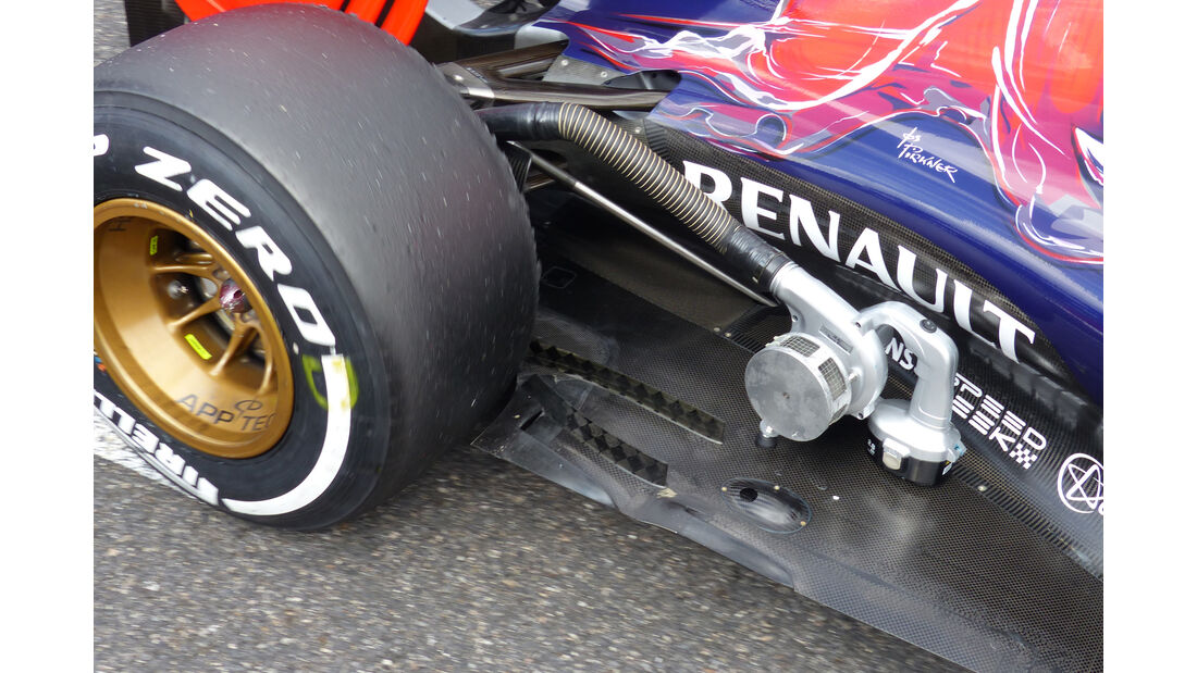 Toro Rosso - Technik - Unterboden-Schlitze - Formel 1 - 2015