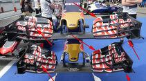 Toro Rosso - Technik-Updates - Ungarn / Deutschland - 2016