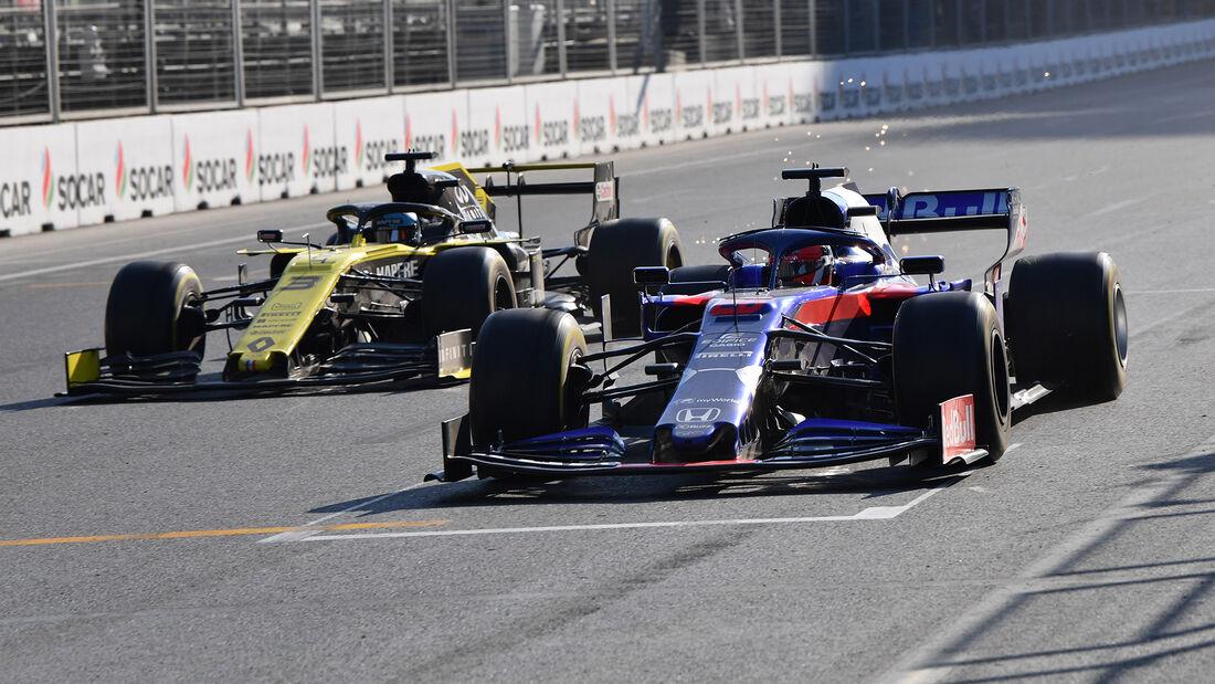 Toro Rosso vs. Renault  - GP Aserbaidschan 2019