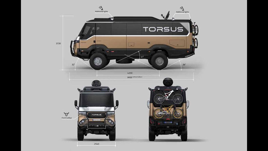 Torsus Praetorian Overland Wohnmobil