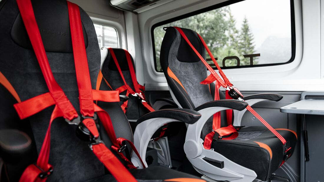 Torsus Terrastorm 4x4 GelŠnde-Transporter auf VW Crafter