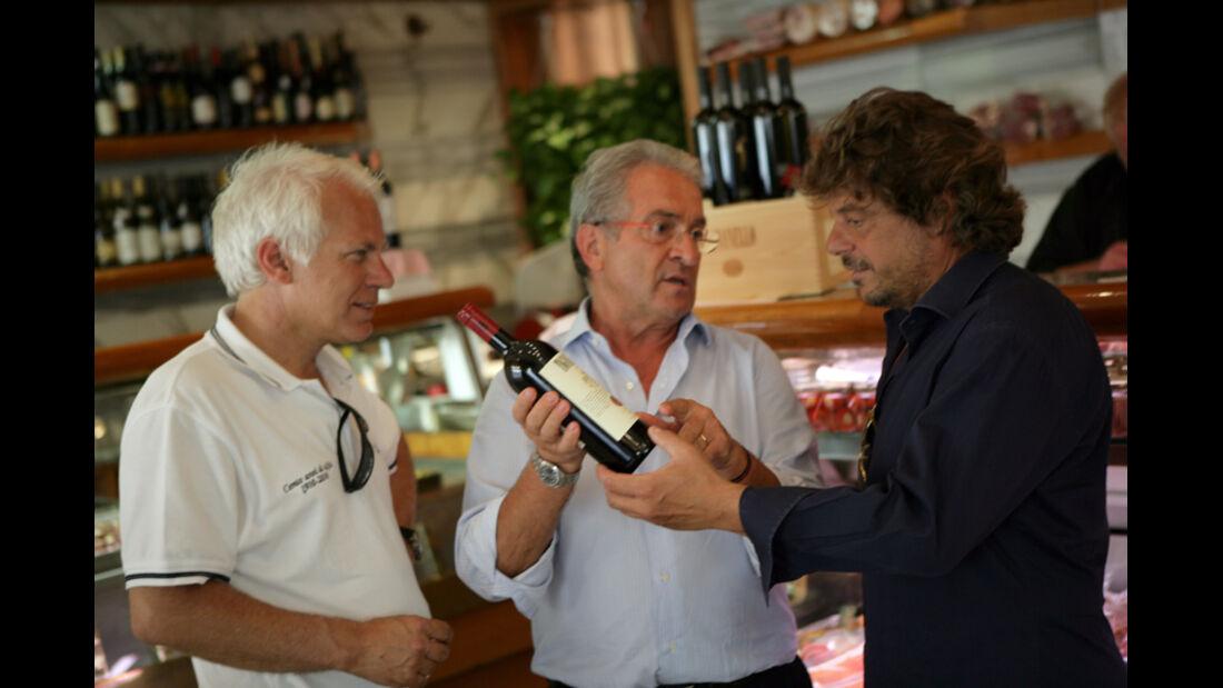Toskana, Wein, Weinladen