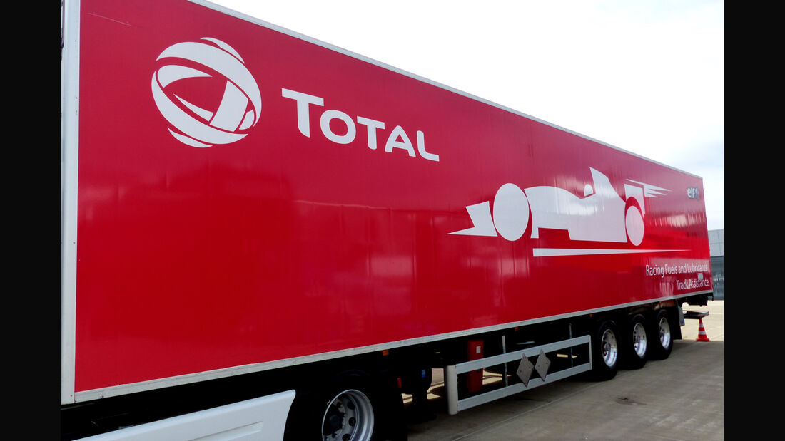 Total-Benzin - Formel 1 - GP England - Silverstone - 3. Juli 2014