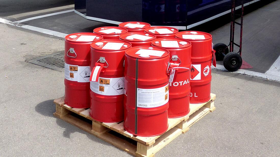 Total Benzin - GP Spanien 2014