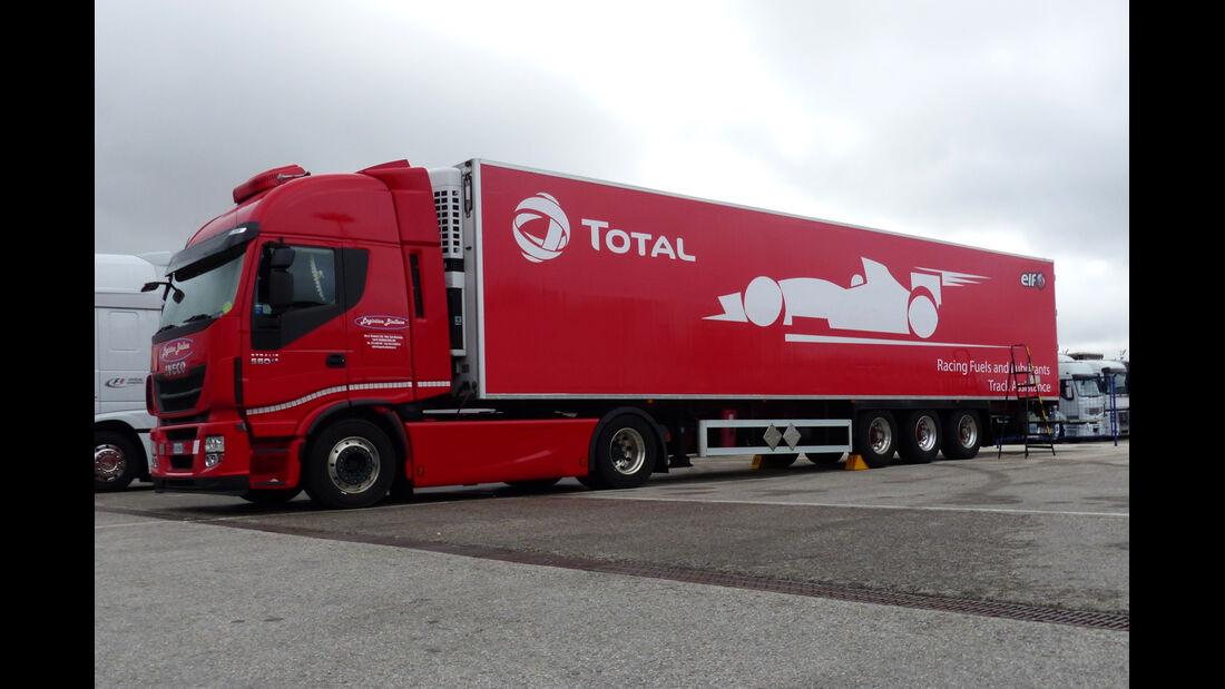 Total - Impressionen - Jerez - Formel 1-Test - 30. Januar 2015