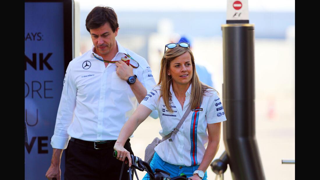 Toto & Susie Wolff - Formel 1 - GP Deutschland - Hockenheim - 19. Juli 2014