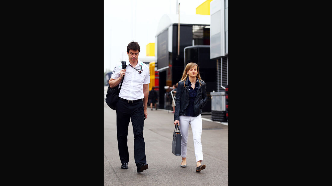 Toto & Susie Wolff - Formel 1 - GP Spanien - 10. Mai 2013