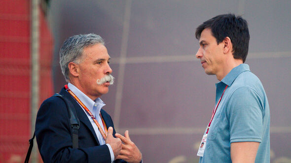 Toto Wolff & Chase Carey - Formel 1 2018