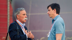 Toto Wolff & Chase Carey - GP Bahrain 2018
