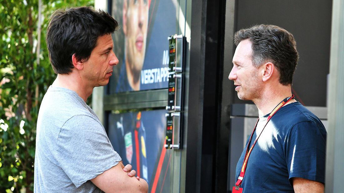 Toto Wolff & Christian Horner - GP Australien 2020