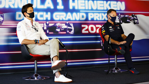 Toto Wolff & Christian Horner - GP Niederlande 2021