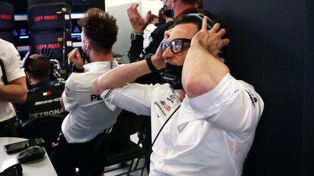 Toto Wolff - Formel 1 - GP Aserbaidschan 2021