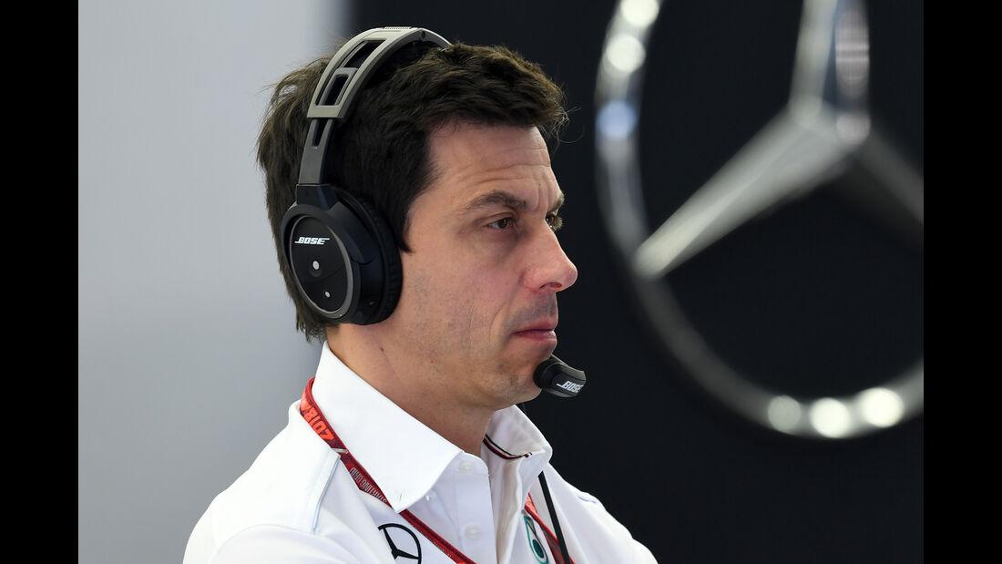 Toto Wolff - Formel 1 - GP Bahrain - Training - 6. April 2018