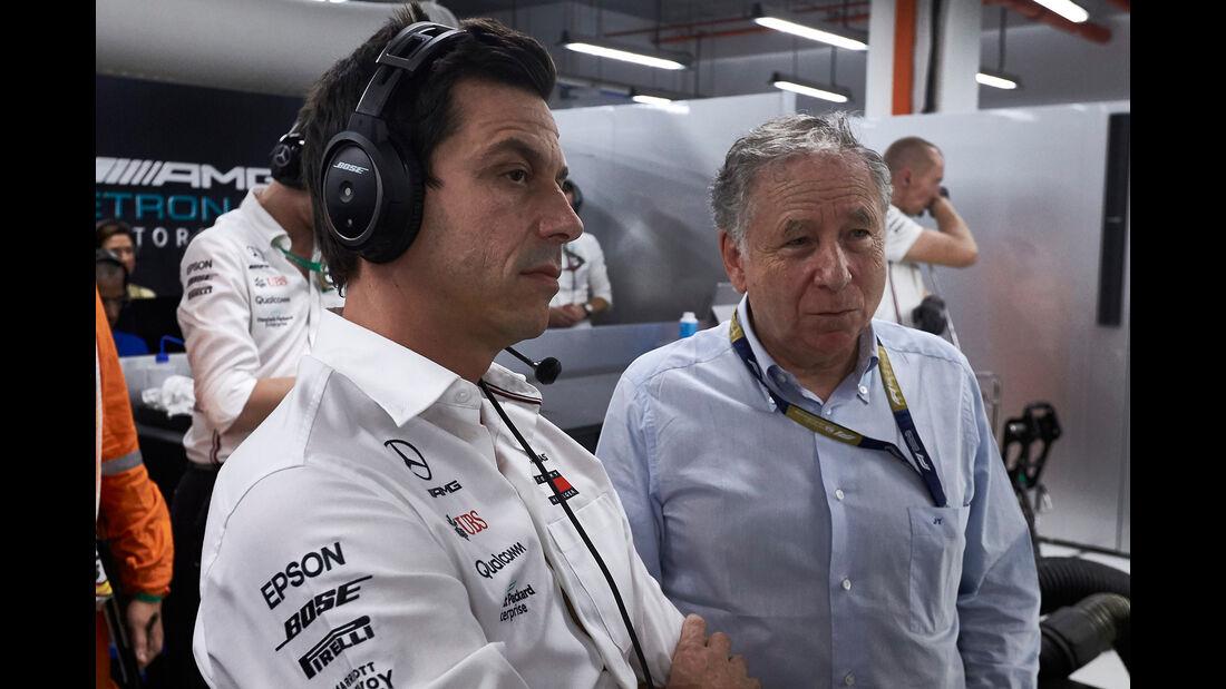 Toto Wolff - GP Singapur 2019
